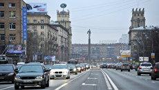 Ленинский проспект в Москве