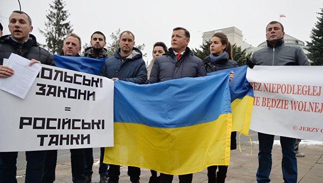 Скриншот видеотранслянции в Facebook лидера Радикальной партии Украины Олега Ляшко