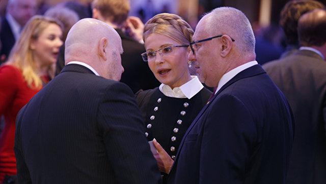 Бывший премьер-министр Украины Юлия Тимошенко в Вашингтоне, США. 8 февраля 2018
