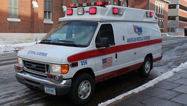 Автомобиль скорой помощи в США. Архивное фото