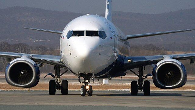 Самолет Boeing 737-800. Архивное фото