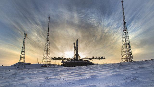 НА космодроме Байконур. Архивное фото