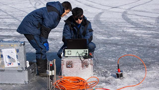Ученые ДВФУ и Китая начали испытания уникальной подледной связи для Арктик. 13 февраля 2018