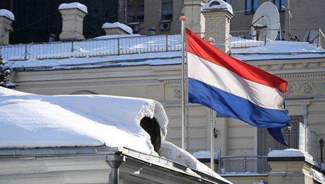 Флаг Нидерландов. Архивное фото