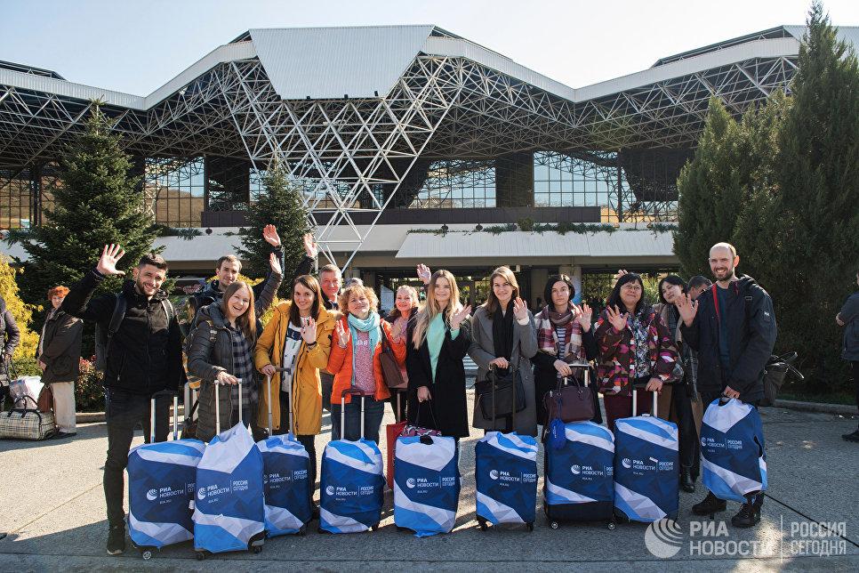 Сотрудники МИА Россия сегодня на Российском инвестиционном форуме в Сочи