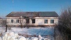 Последствия возгорания в одной из квартир дома в селе Лозовка Самарской области. 14 февраля 2018
