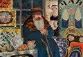 Купец, 1923. Холст, масло. Нижегородский государственный художественный музей