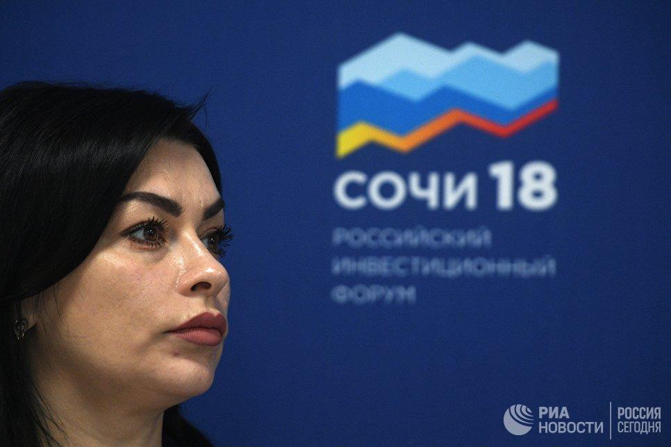 Председатель сельскохозяйственного потребительского перерабатывающего кооператива Пищевик Елена Родионова