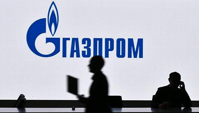 Стенд компании Газпром на Российском инвестиционном форуме в Сочи. Архивное фото.