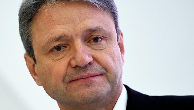 Министр сельского хозяйства Российской Федерации Александр Ткачев на Российском инвестиционном форуме  в Сочи. 16 февраля 2018