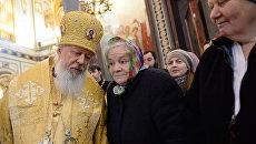 Богослужение по случаю 6-й годовщины интронизации патриарха Московского и всея Руси Кирилла