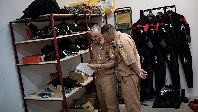 Сотрудники Российско-сербского гуманитарного центра в городе Ниш