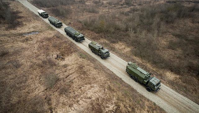 Оперативно-тактические ракетные комплексы (ОТРК) Искандер-М. Архивное фото
