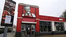 Закрытый KFC в Англии. 19 февраля 2018