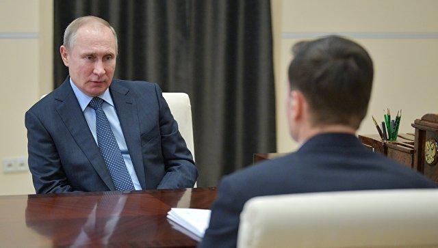 """Путин считает, что проект газопровода """"Северный поток-2"""" будет реализован"""