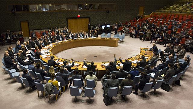Члены Совета Безопасности ООН. Архивное фото