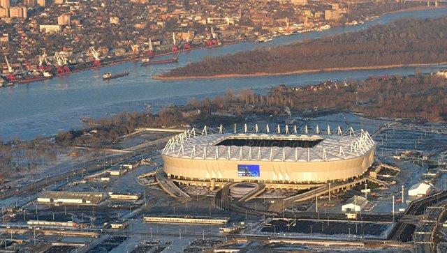 Футбольный стадион Ростов Арена в Ростове-на-Дону