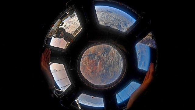 Вид на Землю с борта МКС. Архив