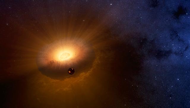Луна иЗемля могли родиться внутри «бублика»— ученые