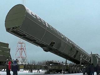 Демонстрация испытаний ракетного комплекса стратегического назначения Сармат. Архивное фото