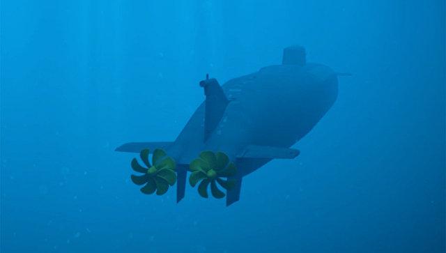 Демонстрация принципа действия океанской многоцелевой системы с беспилотными подводными аппаратами. Архивное фото