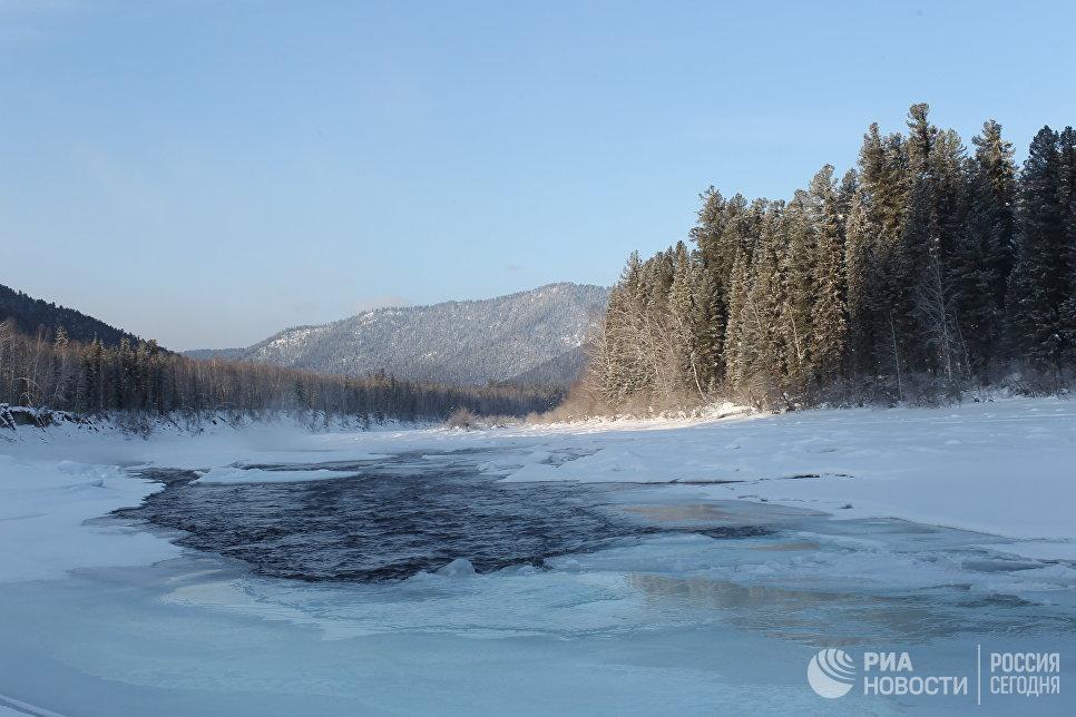 Территория государственного природного заповедника Хакасский.