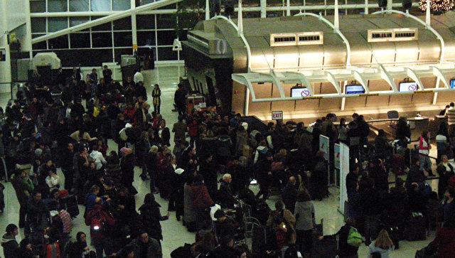 ВНью-Йорке отменили свыше 430 рейсов из-за непогоды