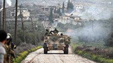 Бойцы поддерживаемой Турцией Свободной армии Сирии. Архивное фото
