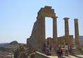 Акрополь в городе Линдос на острове Родос