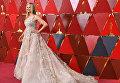 Американская актриса Мира Сорвино перед церемонией вручения премии Оскар-2018