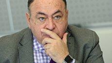 Посол Республики Эквадор в РФ Хулио Прадо Эспиноса. Архивное фото