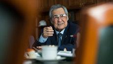 Бывший губернатор Кемеровской области Аман Тулеев. Архивное фото
