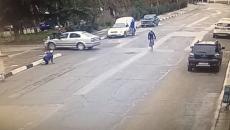 Водитель снес группу велосипедистов в Крыму