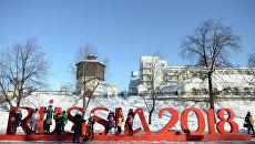Подготовка к чемпионату мира по футболу в 2018 году. Архивное фото