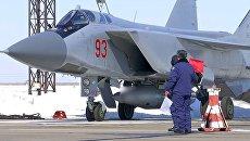 МиГ-31 ВКС провел учебный пуск гиперзвуковой ракеты Кинжал. Архивное фото
