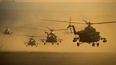 Во время этапа практических действий войск в рамках стратегических командно-штабных учений Центр-2015 на Донгузском полигоне в Оренбургской области