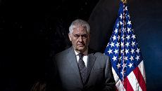Бывший государственный секретарь США Рекс Тиллерсон. Архивное фото