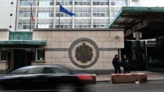 Здание посольства Великобритании в Москве. Архивное фото