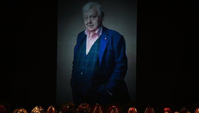 Церемония прощания с актером Олегом Табаковым в здании МХТ имени А.П.Чехова. Архивное фото