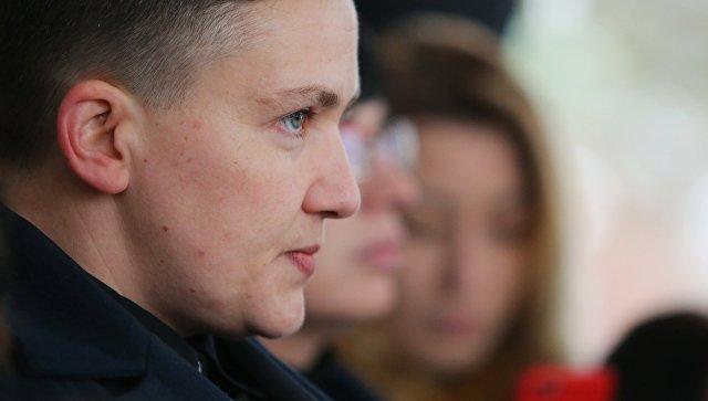 Савченко заявила, что многие депутаты приходят в Верховную раду с оружием