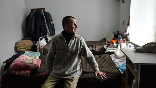 Иван, постоялец дома трудолюбия Ной в деревне Клейменово Егорьевского района