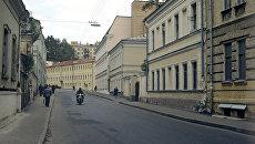Подкопаевский переулок в Москве.
