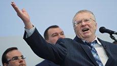 Председатель ЛДПР Владимир Жириновский. Архивное фото