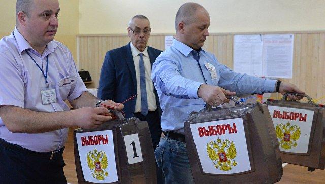 Губернатор Чукотки Роман Копин проголосовал навыборах президента Российской Федерации