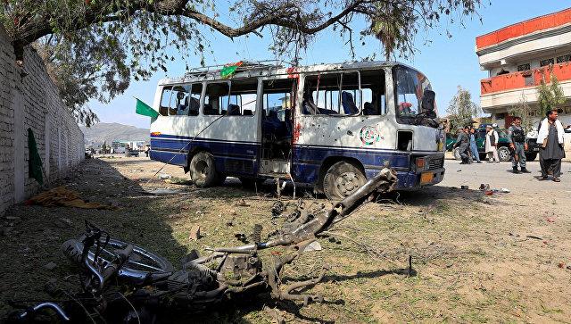 На востоке Афганистана прогремел взрыв, трое погибли