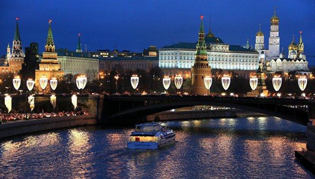 Подсветка Кремля, огромного театра иЗарядья выключится в«Час Земли»