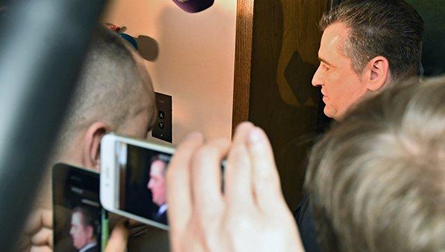 Леонид Слуцкий после заседания комиссии Государственной Думы РФ по этике. Архивное фото