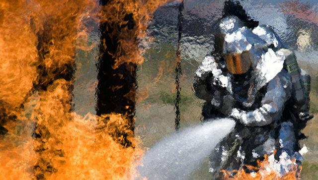 ВСША автомобиль спропаном взорвался навоенной базе