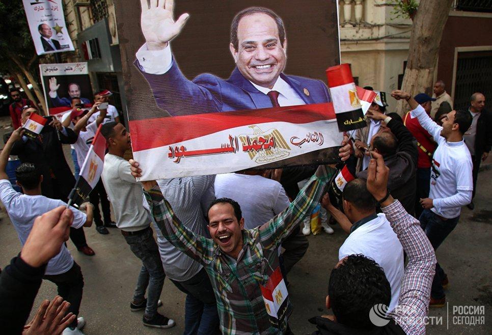 ВЕгипте стартовали президентские выборы