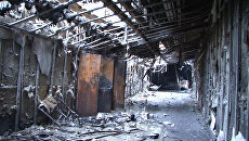 Помещение ТЦ Зимняя вишня в Кемерово после пожара